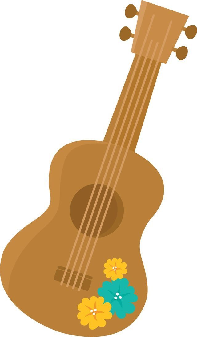 Luau clipart guitar mexican. Pin by yvett soberanis