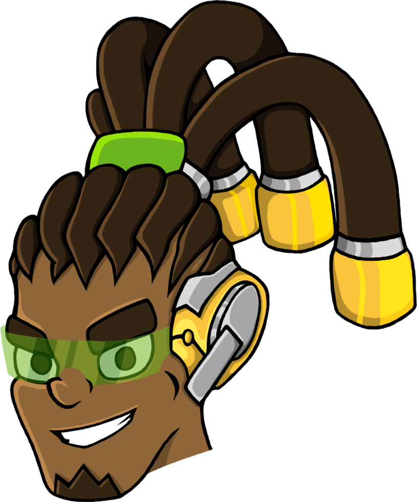 Lucio drawing avatar. Overwatch with visor by