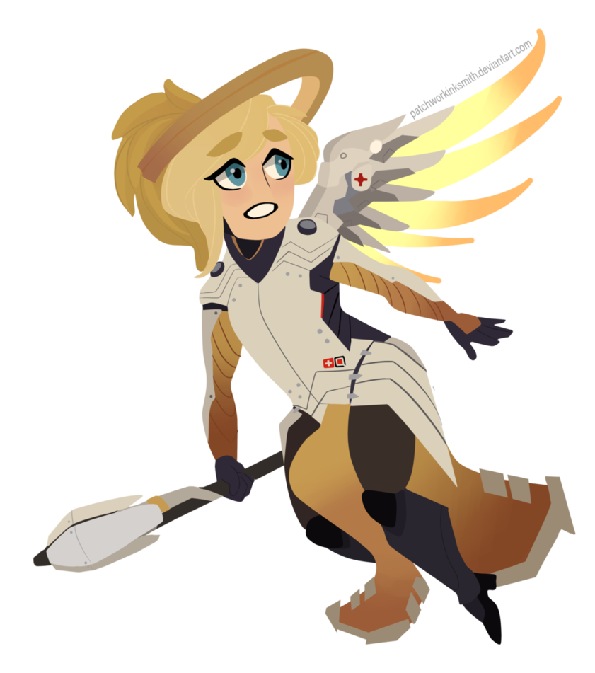 Lucio drawing mercy. Chibi by patchworkinksmith on