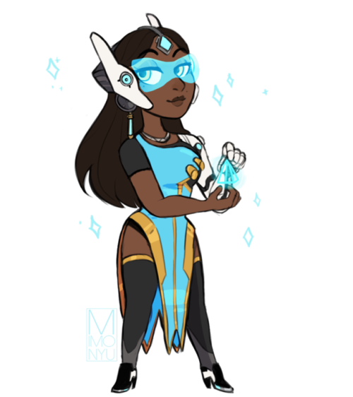 Lucio drawing symmetra. Chibi tumblr