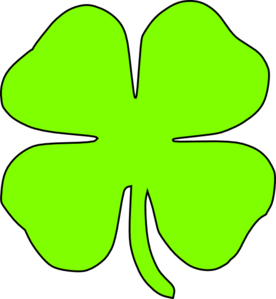 Vector clover luck. Free lucky cliparts download