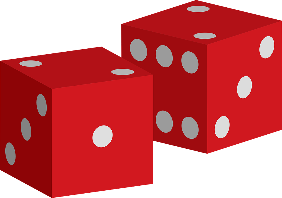 Dice png colorful. Game of luck clipart