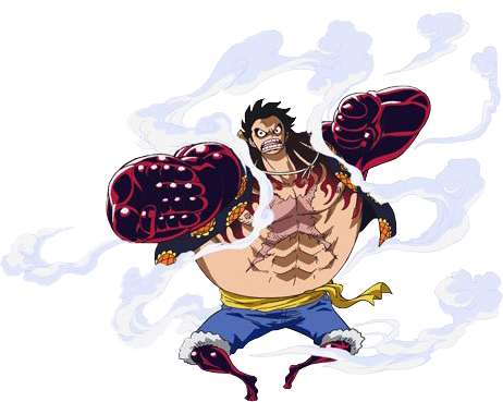 Luffy gear 4 png. Image th battle wikia