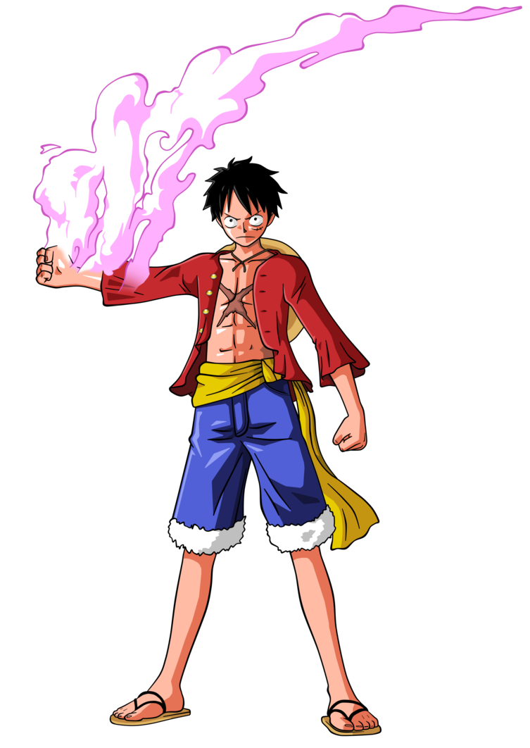 Luffy new world png. By bardocksonic on deviantart