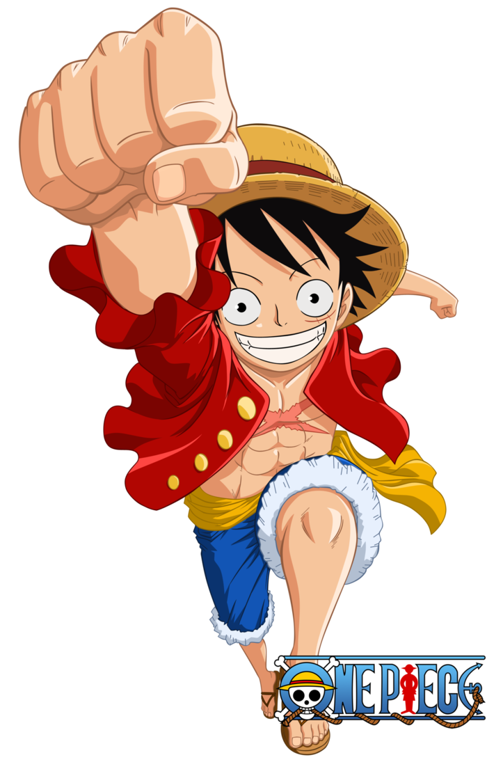 luffy new world png