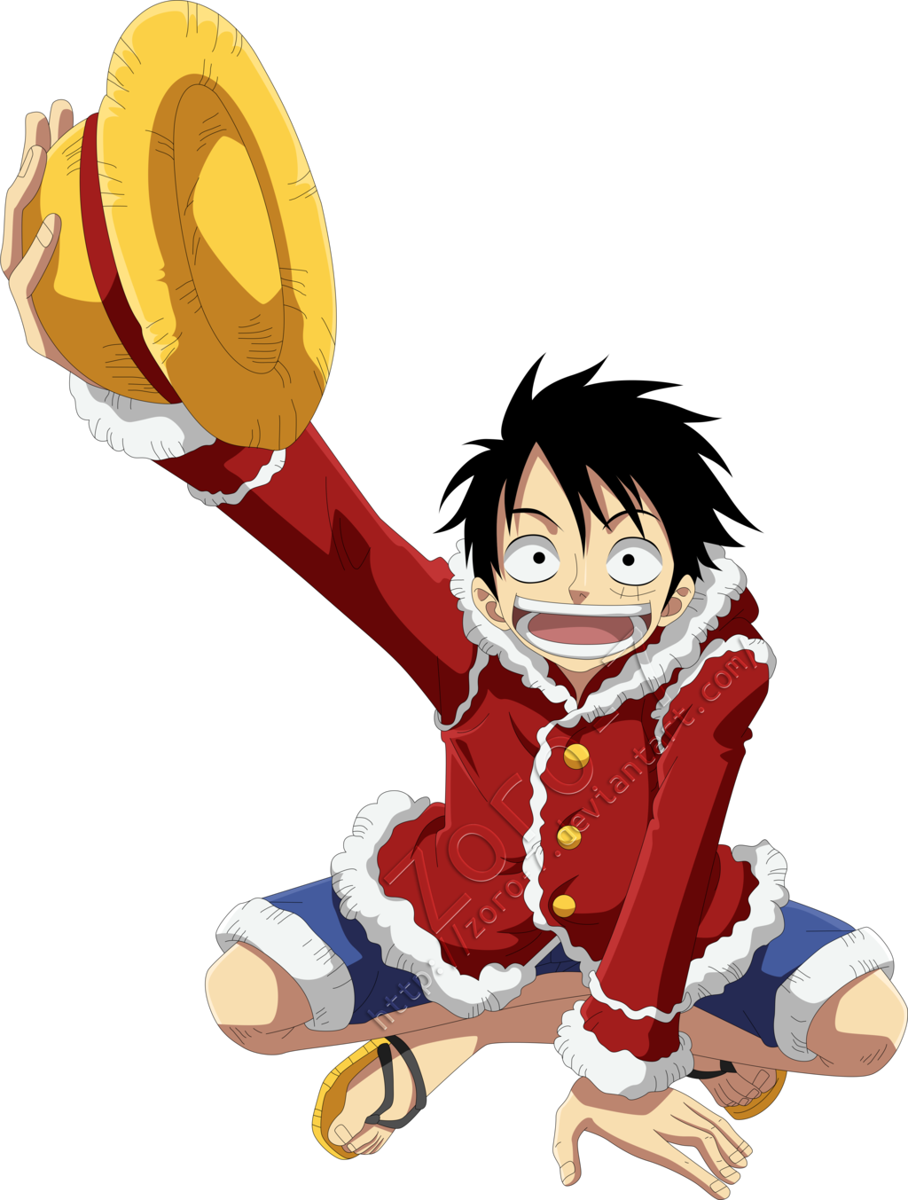 Luffy new world png. Monkey d happy year