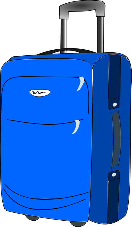 Luggage clip. Baggage suitcase travel hand