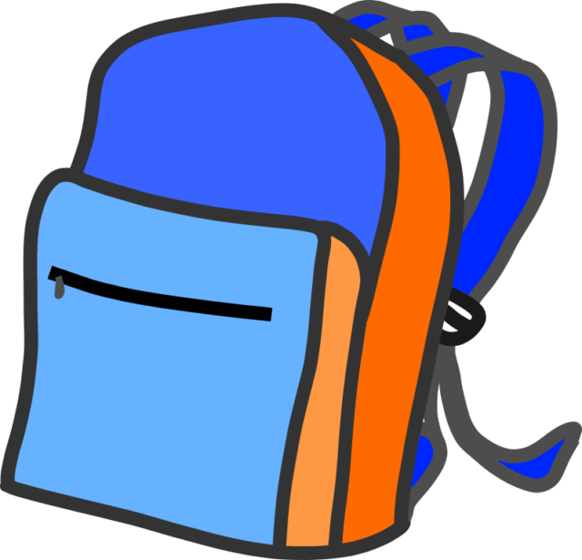 Luggage clip backpack. Begin by decluttering the