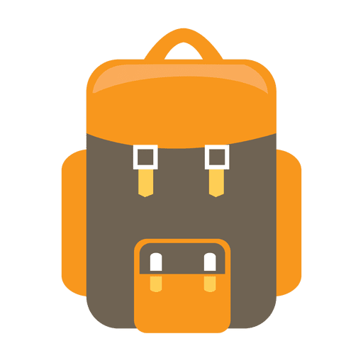 camp vector travel backpack
