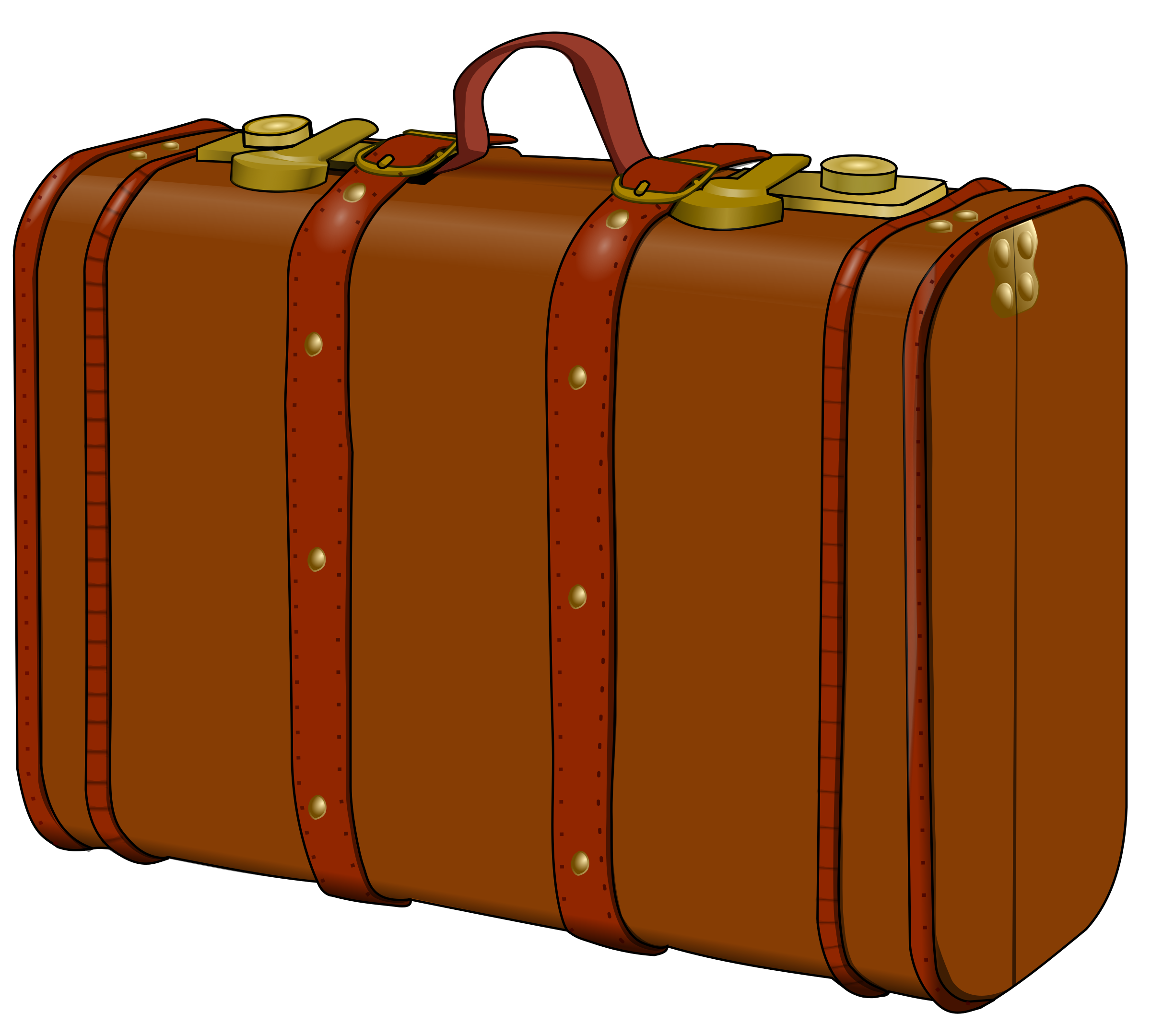 Luggage vector tourist bag. Open suitcase jpg