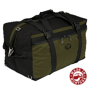 Luggage clip parachute. Air boss carry on