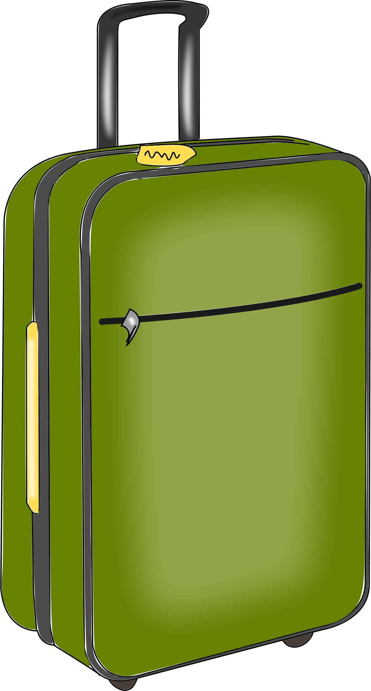luggage png library. Briefcase clipart cartoon png download
