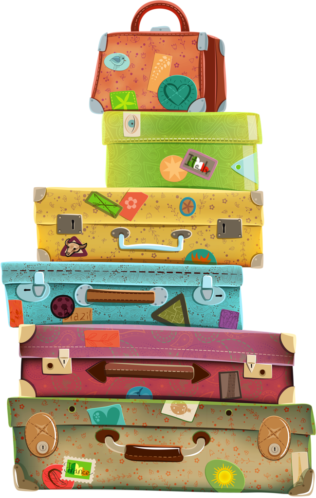 Luggage clipart messy. Full suitcase frames illustrations
