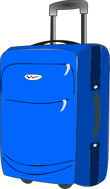 Luggage clipart passport. Free suitcases cliparts download