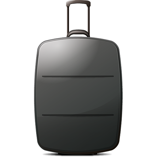 Luggage vector airport. Free icon download clip