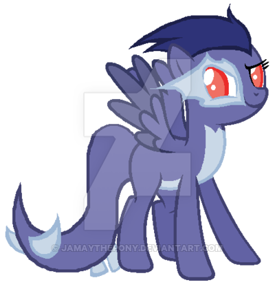 Lugia transparent mlp. Shadow ponified by jamaythepony