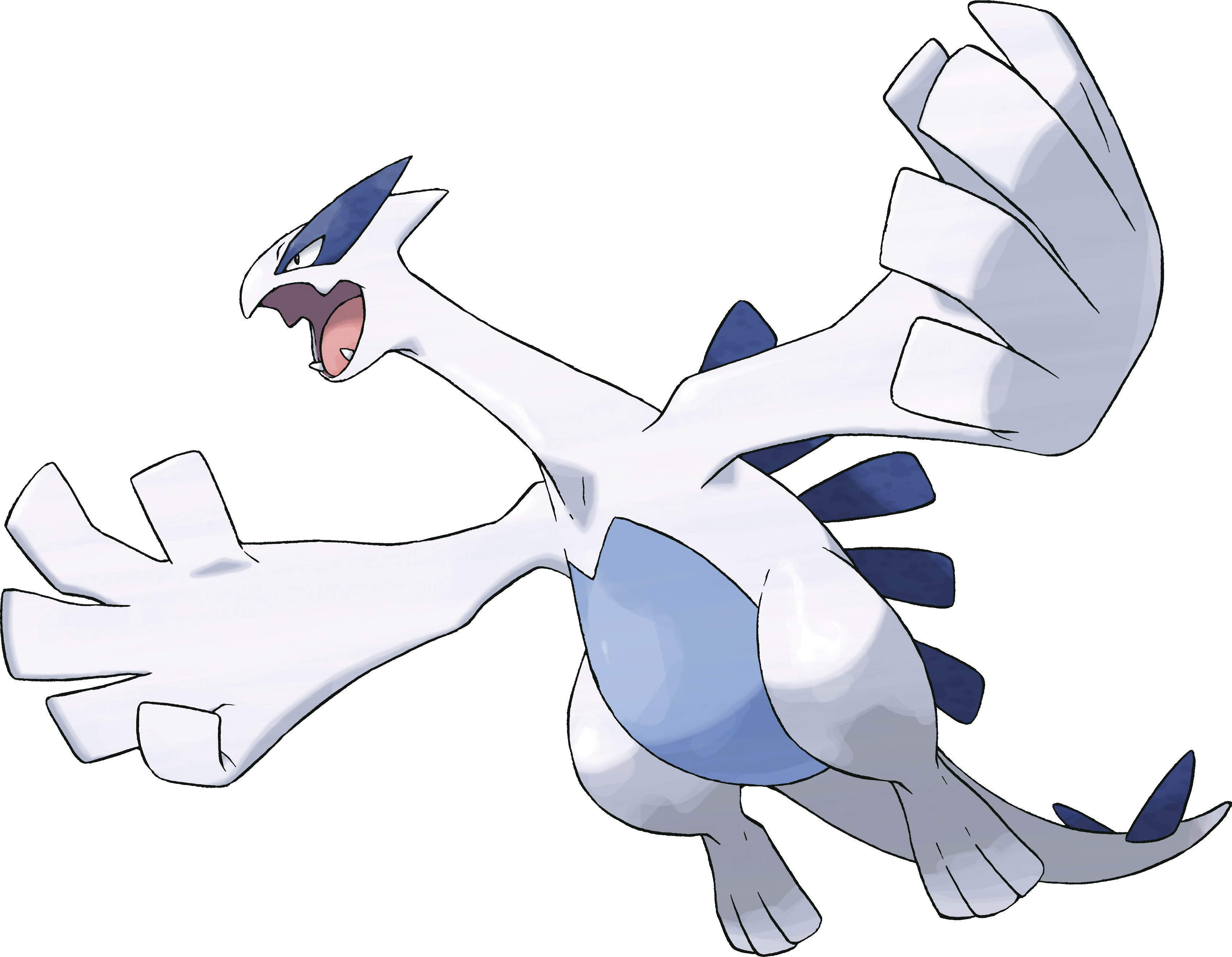 Lugia transparent palkia. Legendary pokemon images hd