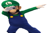 Luigi dab png. Know your meme mario