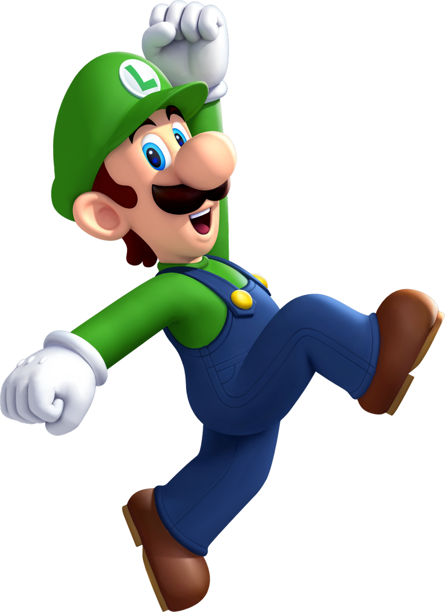 Luigi dab png. Eurogamer on twitter yes