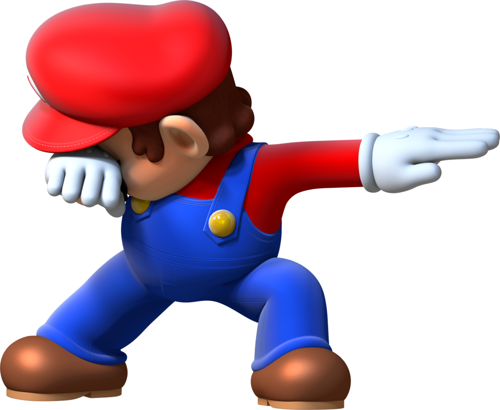 Luigi dab png. D se by toasted