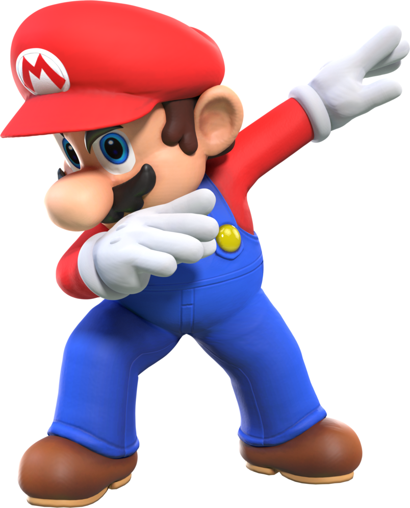 Luigi dab png. Cycles mario but he