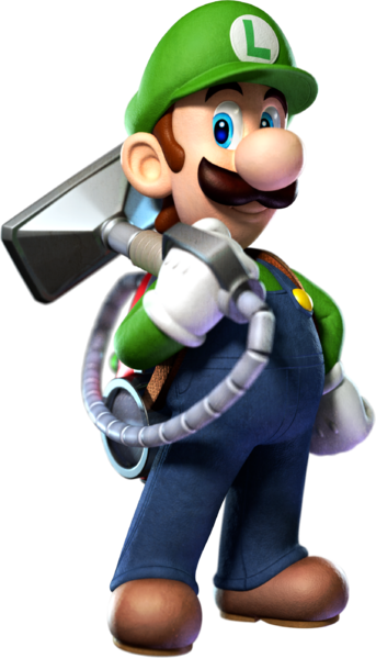 Luigi mansion png. File pose s dark