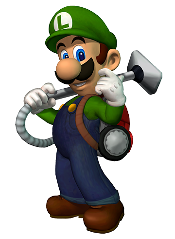 Luigi mansion png. S for nintendo ds