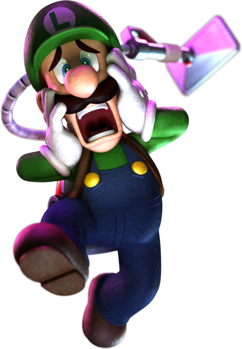 Luigi mansion png. S super mario galaxy
