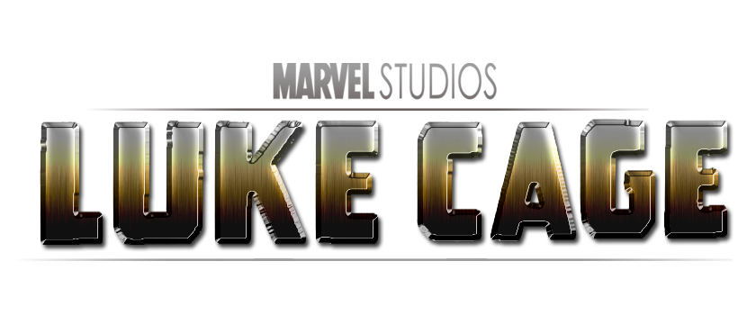 Luke cage text png. Movie logo by marvel