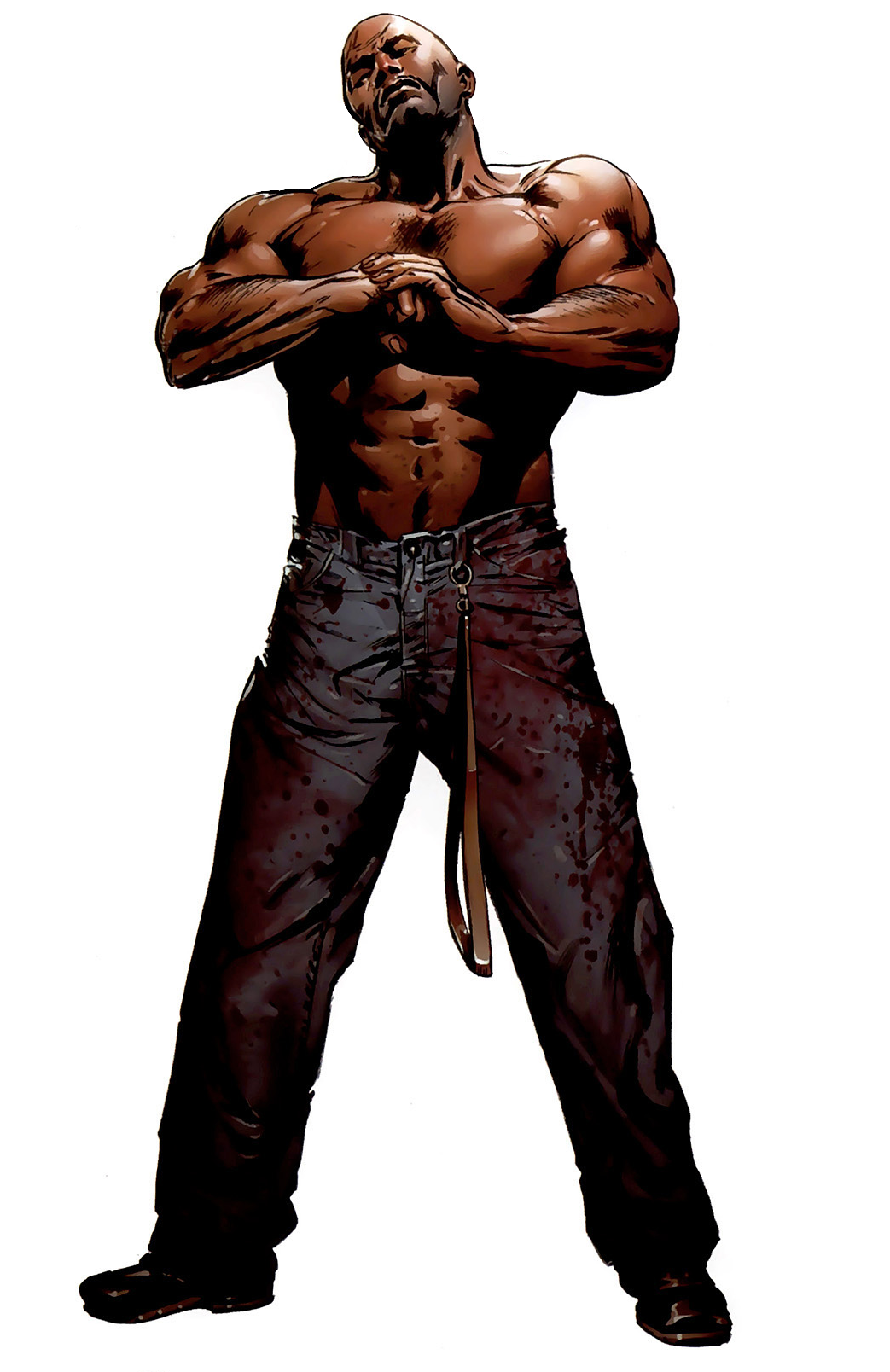 Luke cage png. Image new avengers vol