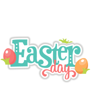 Lularoe vector cricut. Easter day scrapbook title