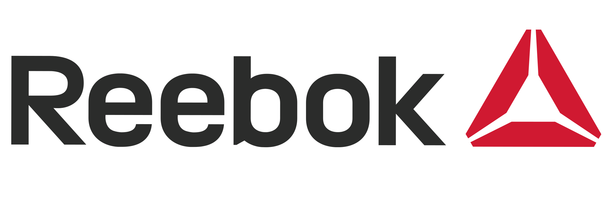 Reebok vector black and white. Logo symbol meaning history