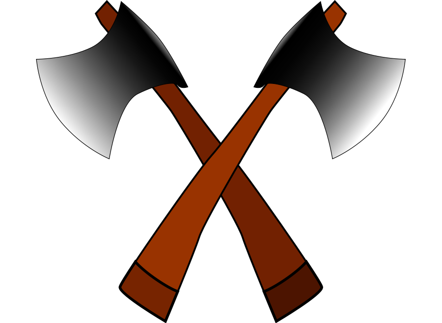 Ax drawing small axe. Free picture download clip