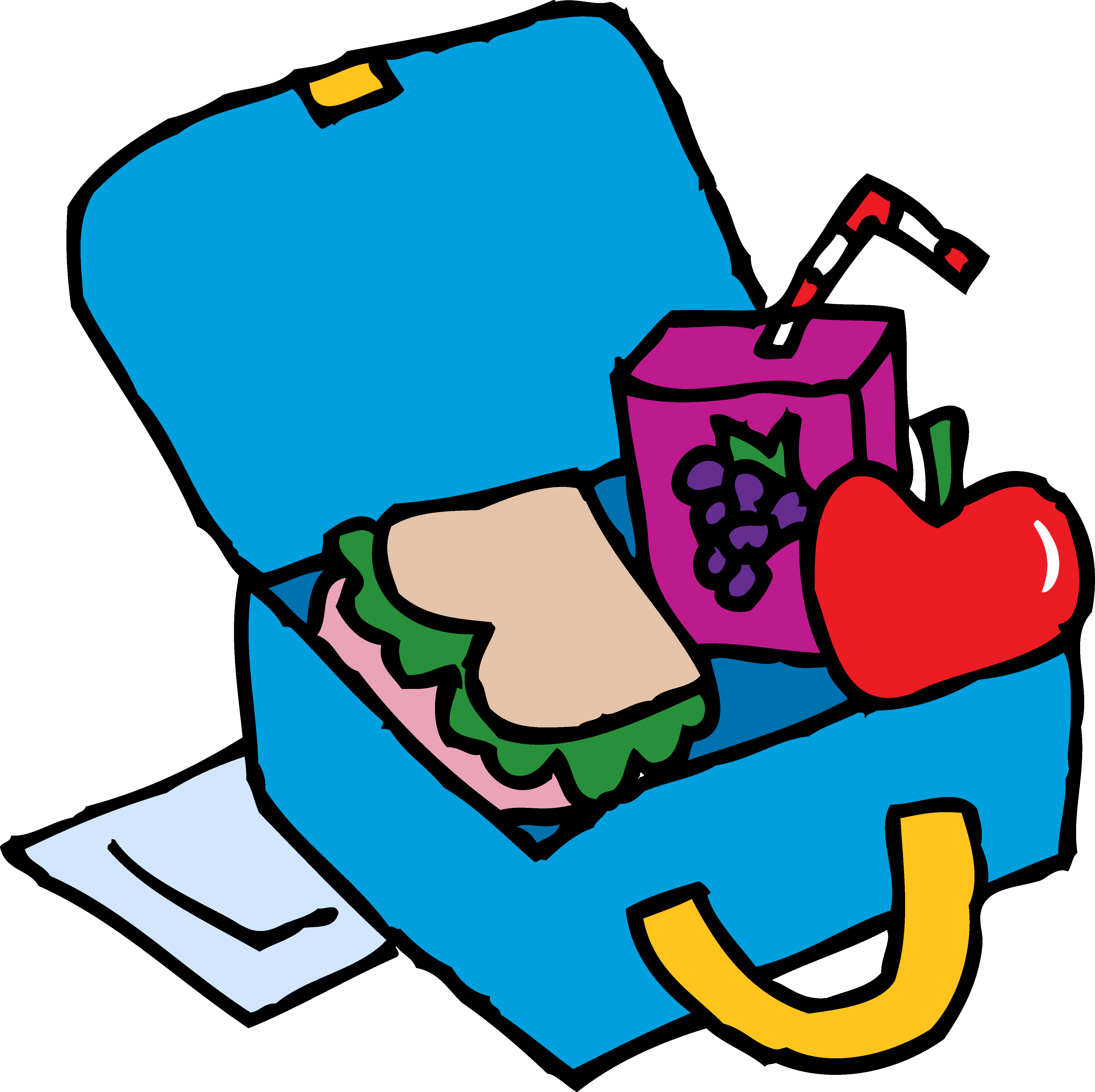 Lunch clipart lunch bag. Free images clipartix