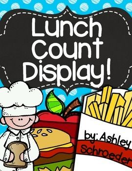 Lunch clipart lunch choice. Count bright polka dots