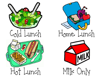 Lunch clipart lunch choice. Labels graph headings by