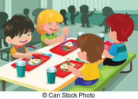 Lunch clipart lunchroom. Cafeteria illustrations and royalty banner free download