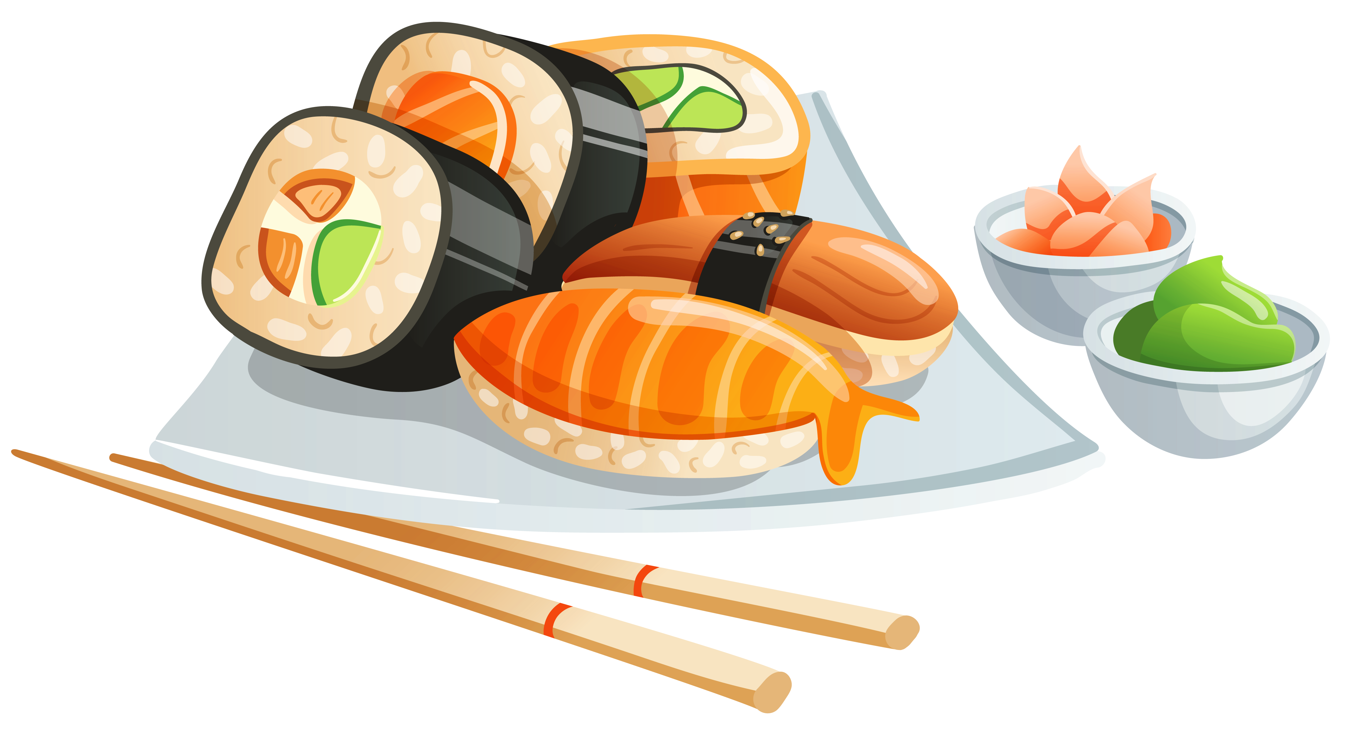 Clipart image gallery yopriceville. Sushi png image freeuse stock