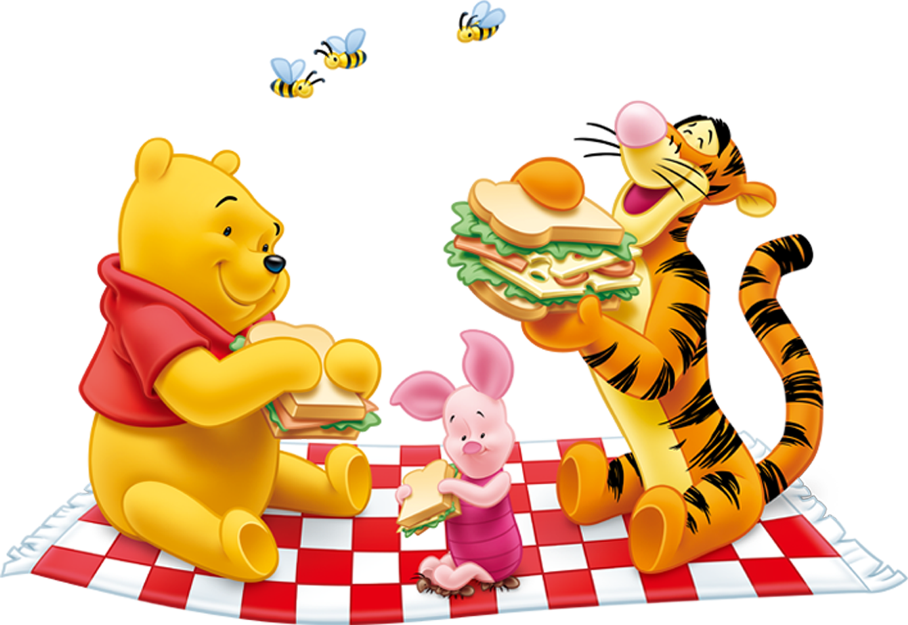 Lunch clipart transparent background. Winnie the pooh png