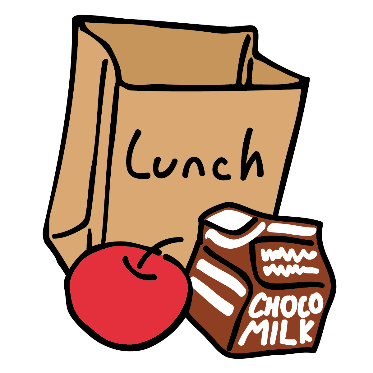 Time clip art panda. Lunch clipart image free stock