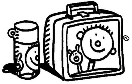 Lunchbox clipart outline. Clip art margarine include