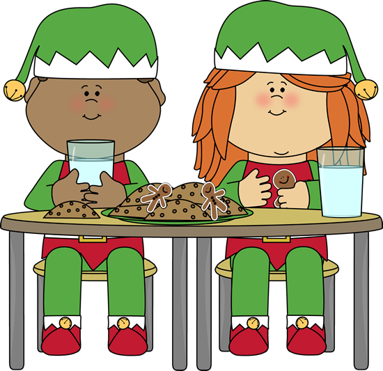 Luncheon clipart. Christmas free download best