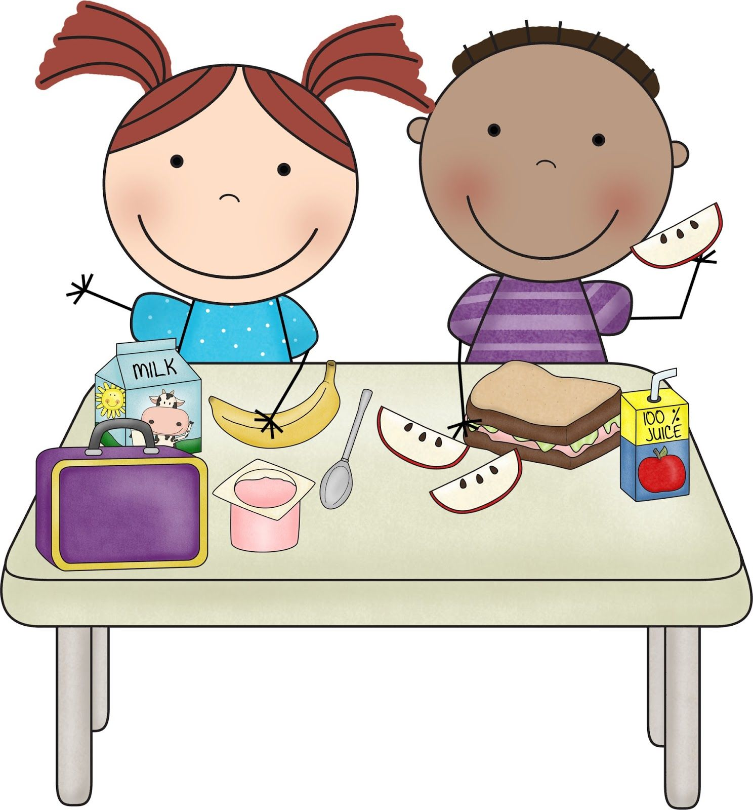 Luncheon clipart realtor. Buying lunch kids clip