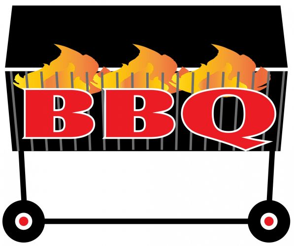 Barbecue group lunch pencil. Luncheon clipart staff bbq free