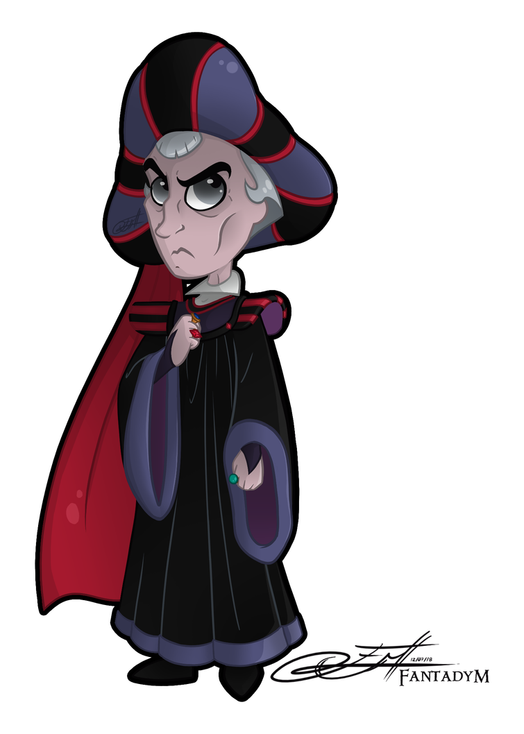 Lust drawing cute. Lil frollo by fantady