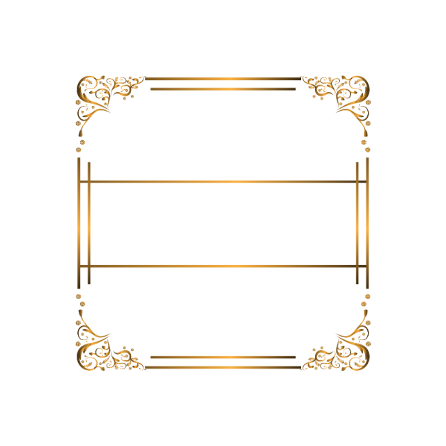 Ornament background png and. Luxury vector vintage gold frame clip art free