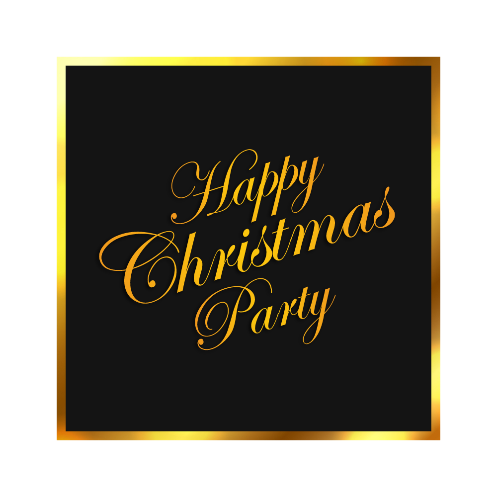 Luxury vector vintage gold frame. Christmas png images clipart