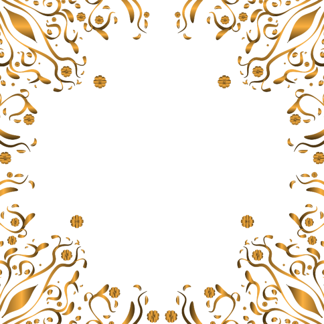 Luxury vector. Ornament frame background png