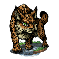 Lynx vector abstract. Download free png photo