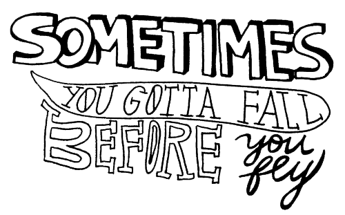 lyric drawing hand lettering